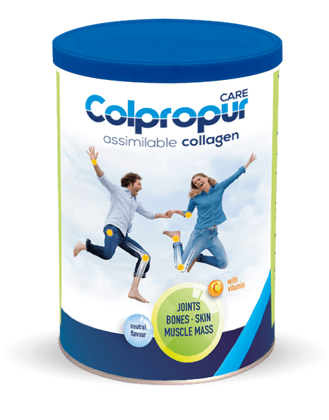 COLPROPUR CARE: Food supplement targeted at joints, muscles, bones, teeth and skin.